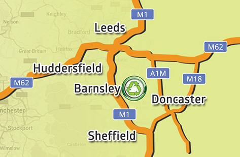 We are close to Leeds, Huddersfield, Doncaster and Sheffield