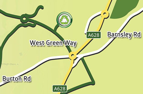 We are located in Barnsley, South Yorkshire